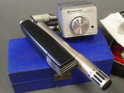 Ensemble de 6 micros dont :  - 1 micro cravate NAGRASTATIC SARB 4147  - 2 micro...