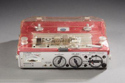NAGRA «E»  Magnétophone à bandes  (Manque...