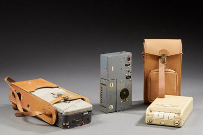 DEUX MAGNETOPHONES portables: MIDGETAPE...