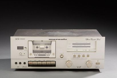 MARANTZ SD-3000 Stereo Cassette Deck.  Lecteur...