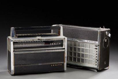 POSTE DE RADIO ZENITH-WAVE Magnet.  Joint...
