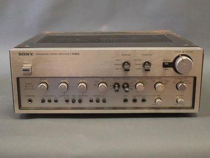SONY TA-8650 Stereo Amplifier  (traces d'oxydation...