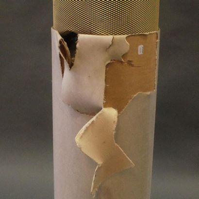 CHARLIN  Paire d'enceintes colonnes cylindrique  (En l'état)