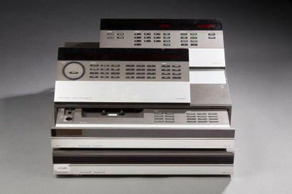 Beocord 5500, Lecteur de cassettes.  Beomaster...