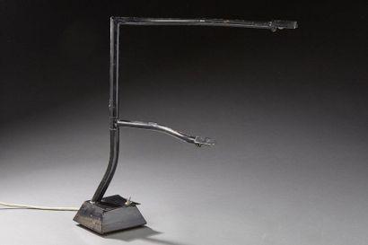 Travail des années 1980.  Lampe de bureau...
