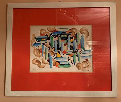 Marek OBENLANDER (1922-1978)  Composition...