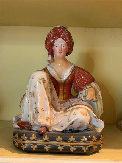Jacob PETIT (1796-1868)  Flacon statuette...