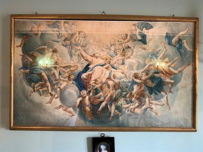 Ulises PASSANI (1848-?)  Apothéose de la...