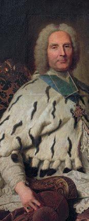 Hyacinthe RIGAUD (Perpignan 1659 - Paris 1743) Portrait de Henri-Oswald de La Tour...