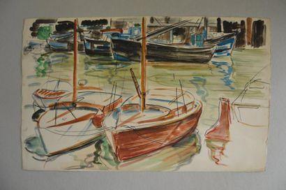 Philippe DAUCHEZ (1900 - 1984)  2 dessins...