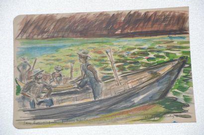 Philippe DAUCHEZ (1900 - 1984)  10 dessins...