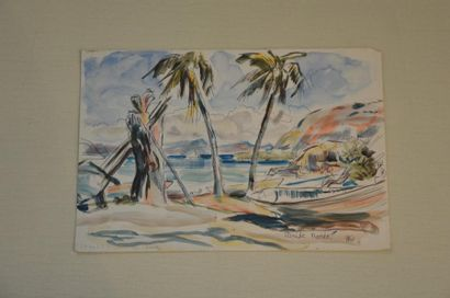 Philippe DAUCHEZ (1900 - 1984)  9 dessins...