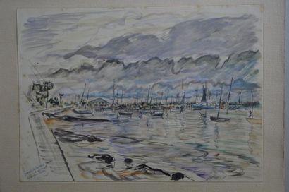 Philippe DAUCHEZ (1900 - 1984)  5 dessins...