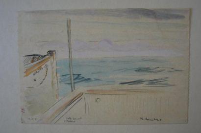 Philippe DAUCHEZ (1900 - 1984)  12 dessins...