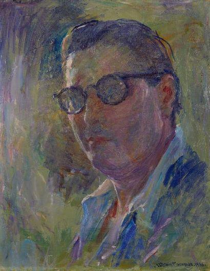 William MALHERBE (1884-1951)  Autoportrait...