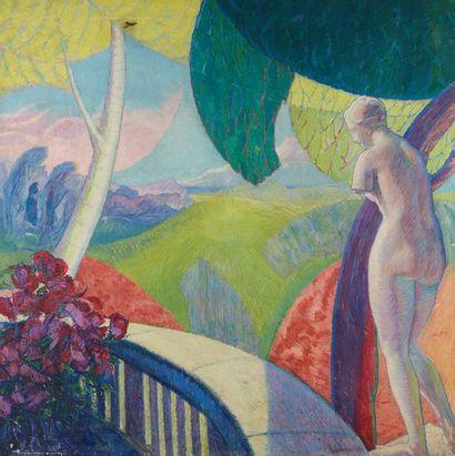 William MALHERBE (1884-1951)  Paysage  Toile...