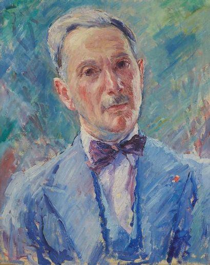William MALHERBE (1884-1951)  Homme au noeud...