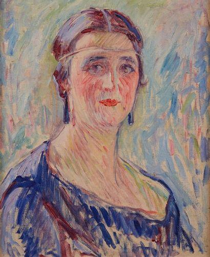 William MALHERBE (1884-1951)  Portrait de...