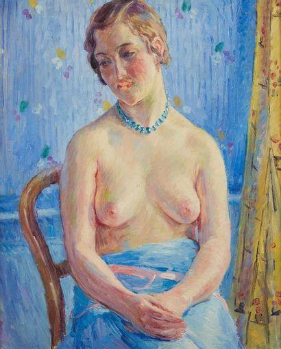 William MALHERBE (1884-1951)  Le collier...