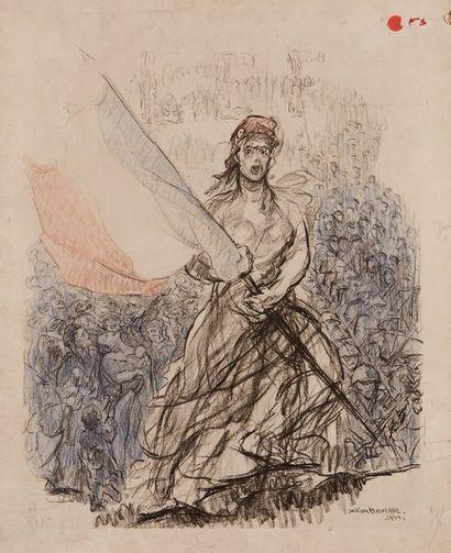 William MALHERBE (1884-1951)  La République...