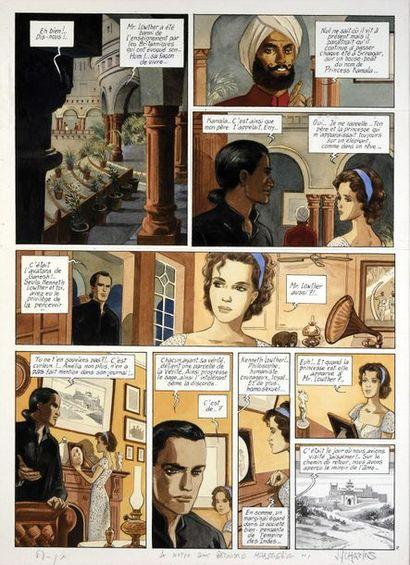CHARLES, Jean François (1952) India Dreams. Tome 2. Quand revient la mousson. Encre...