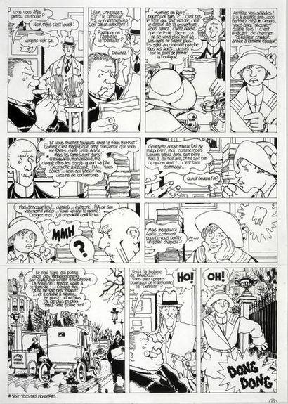 TARDI, Jacques (1946) Les Aventures Extraordinaires d'Adèle Blanc Sec. Le mystère...