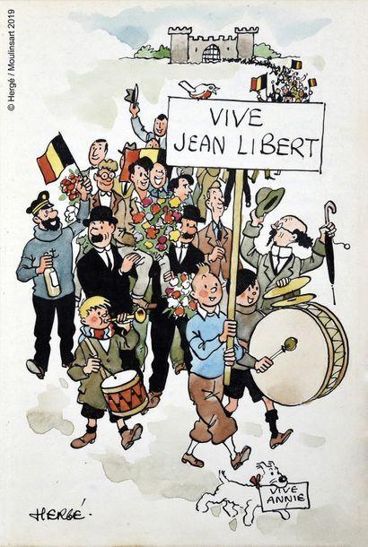 HERGÉ (Georges Remi, dit.1907-1983)