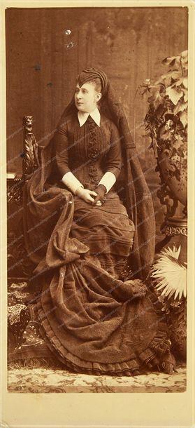 CONSTANTIN NICOLAIEVITCH, grand-duc de Russie (1827-1892). Portrait photographique,...