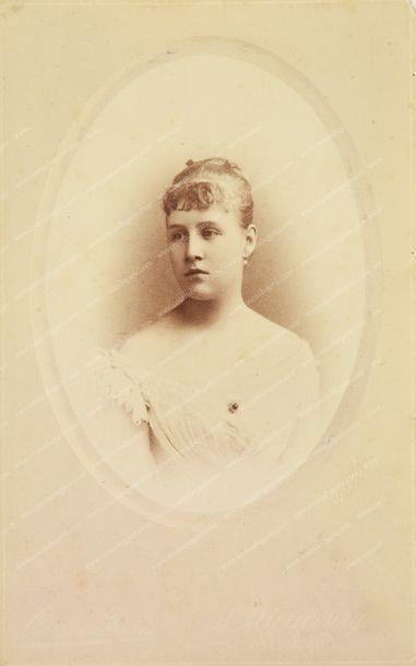 OLGA CONSTANTINOVNA, grande-duchesse de Russie, reine de Grèce (1851-1926). Portrait...