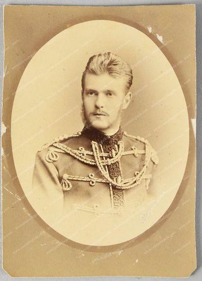 SERGE ALEXANDROVITCH, grand-duc de Russie (1857-1905). Ensemble de 5 portraits photographiques,...
