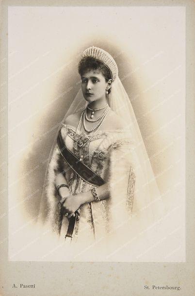 NICOLAS II, empereur de Russie (1868-1918)....