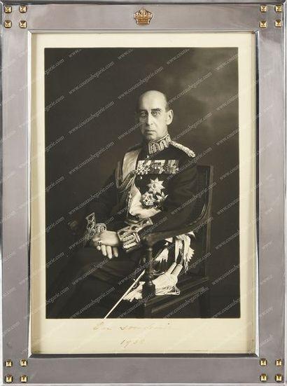 NICOLAS, prince de Grèce (1872-1937). Portrait...