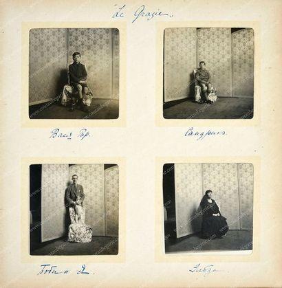 ANDRÉ ALEXANDROVITCH, prince de Russie (1897-1981). Album de photographies de forme...