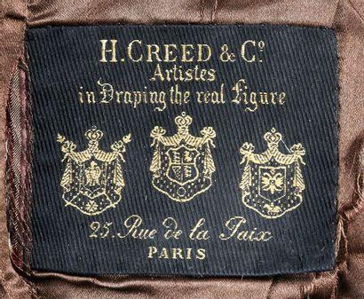 Ensemble pour la chasse ou la promenade griffé H. Creed&Cie, Paris, vers 1900, ensemble...