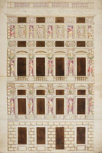 École génoise début XVIIe siècle.