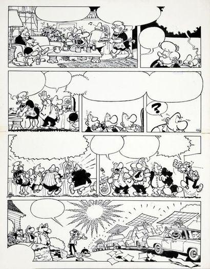 GREG (Michel Regnier / 1931-1999) ACHILLE TALON ET L'ARME DU CROCODILE Planches n°35...