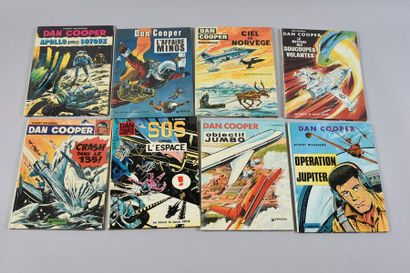 WEINBERG Dan Cooper, a set of 12 albums in first editions in near-new or new condition....