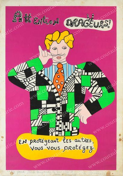 SAINT PHALLE Niki de (1930-2002).