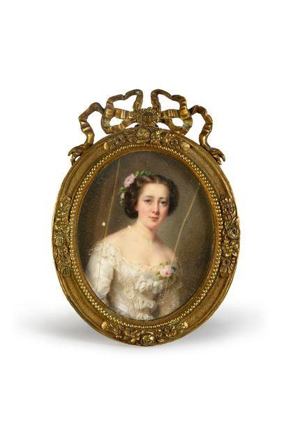 Cécile Villeneuve (1824-1901)
