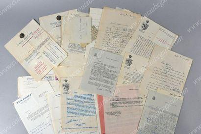 CERCLE LOUIS XVII - PRINCESSE MADELEINE DE BOURBON (1900-1972)