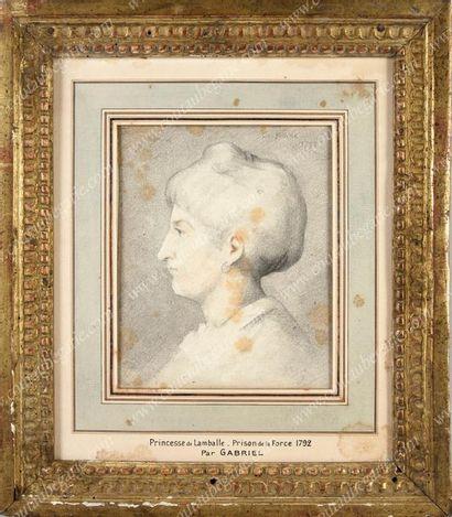 GABRIEL Georges (1775-1846), attribué à