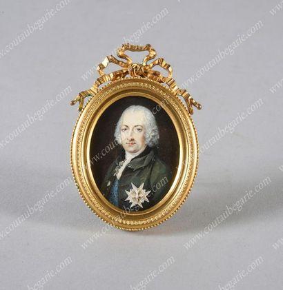 LE TELLIER Jean-Baptiste (1759-1812), attribué à