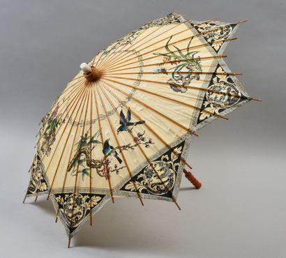Deux ombrelles, Chine, XXe siècle Traditionnelles,...