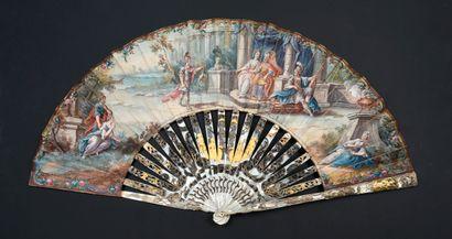 Jason et la toison d'or, vers 1750-1760 Éventail...