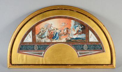 Le char de l'Aurore, Italie, vers 1770-1780...
