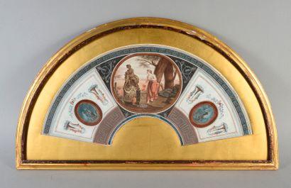 La maternité, Italie, vers 1770-1780 Feuille...
