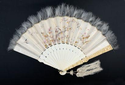 Le phénix et les grues, Chine, XIXe siècle...