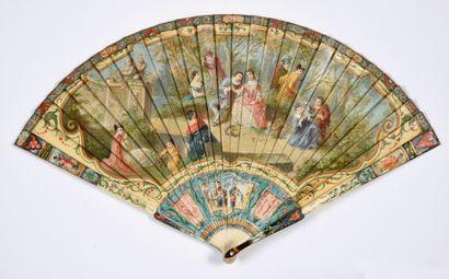 Dans le goût de Watteau, vers 1900