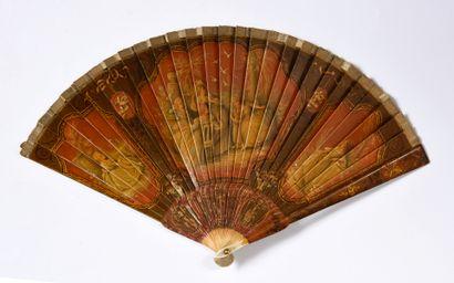 L'envol des tourterelles, vers 1900-1920...