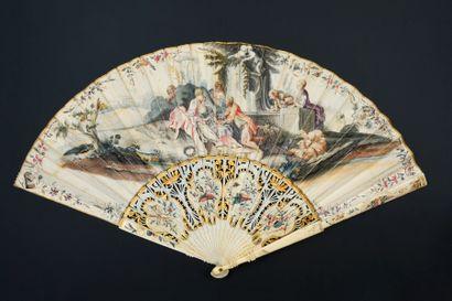 Les charmes de la vie champêtre, vers 1750...